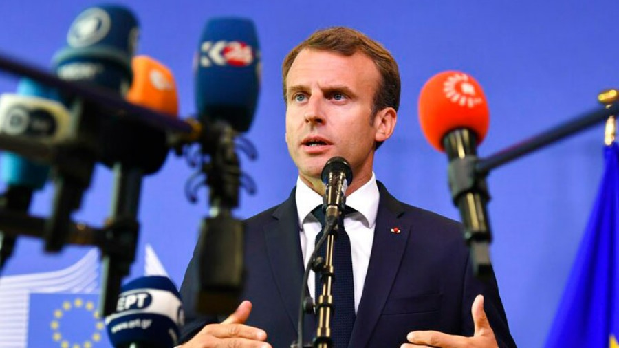 Emmanuel Macron, France's president, declared that the Republic was besieged by jihadist Islam after a schoolteacher was decapitated for using cartoons of Mohammad as a teaching aid.