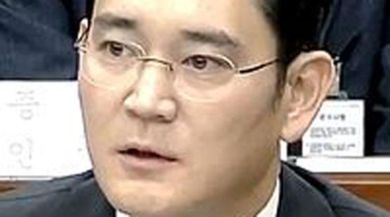Samsung Group heir  Jay Y. Lee.
