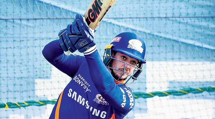 South Africa batsmen Quinton De Kock for Mumbai Indians