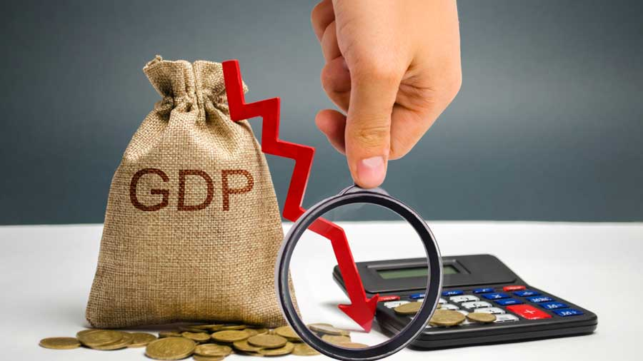 The report said the country's GDP growth plunged to 23.9 per cent in the first quarter of 2020-21 because of the nationwide lockdown