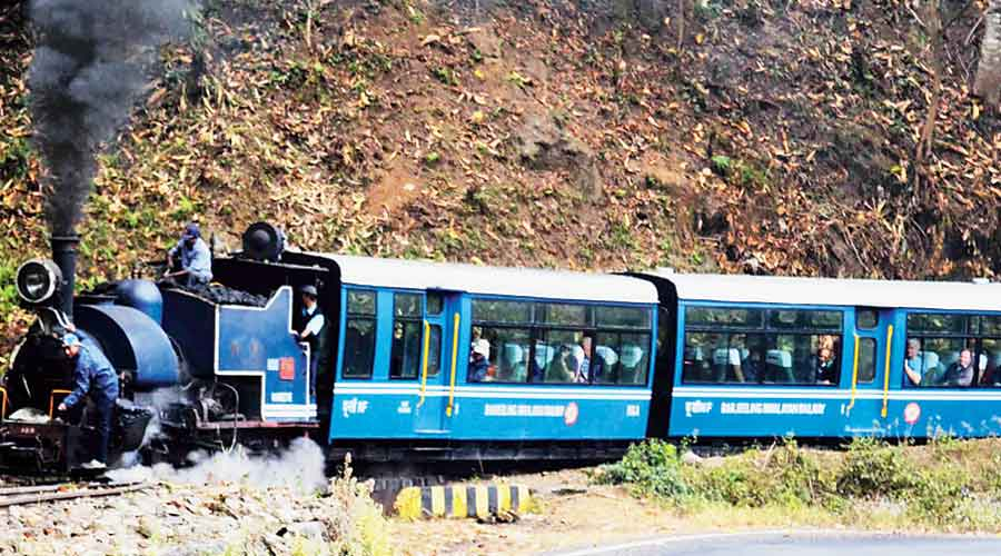 Toy trains back on track