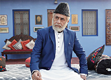 Naseeruddin Shah in a scene from the film