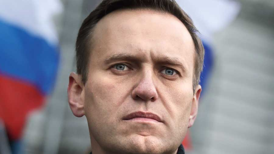 Russian Opposition leader Aleksei A. Navalny.
