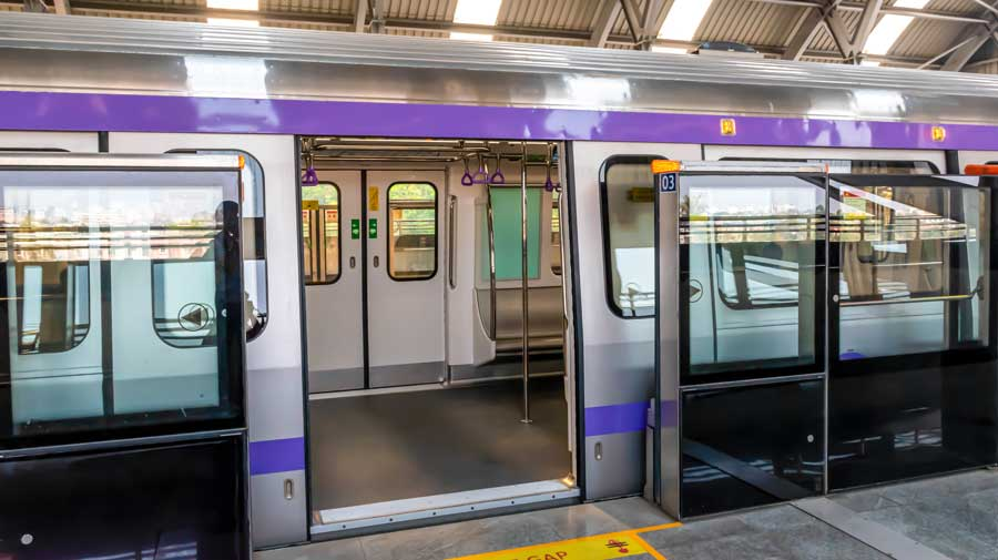 Metro services in Delhi and Bangalore are set to resume from Monday, the day of total lockdown in Bengal. On Tuesday, the city's lifeline will have trial runs.