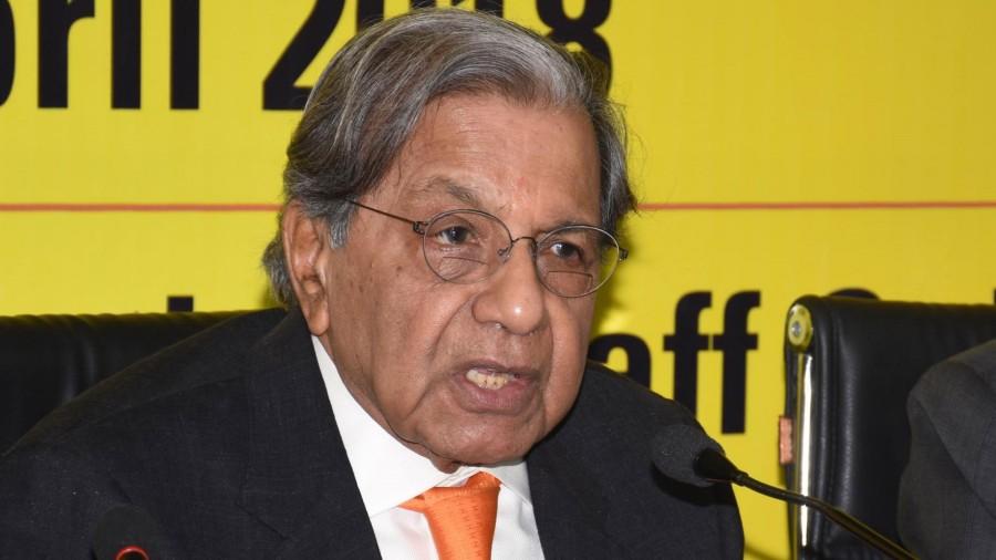 Finance Commission chairman NK Singh