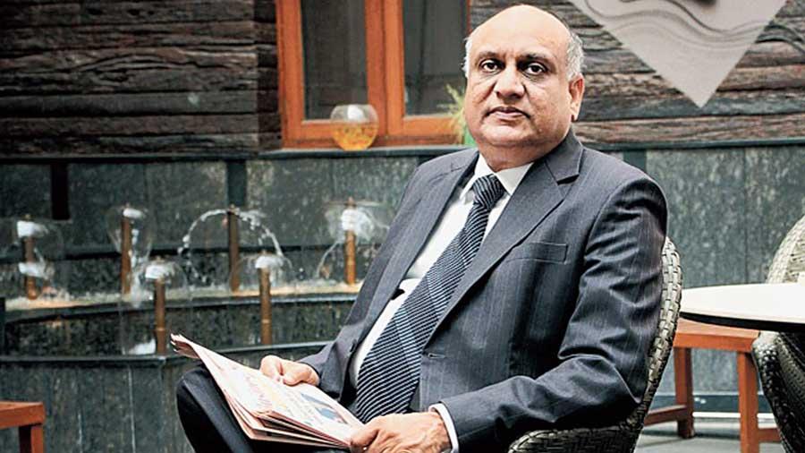 Hari Mohan Bangur, the managing director of Shree Cement
