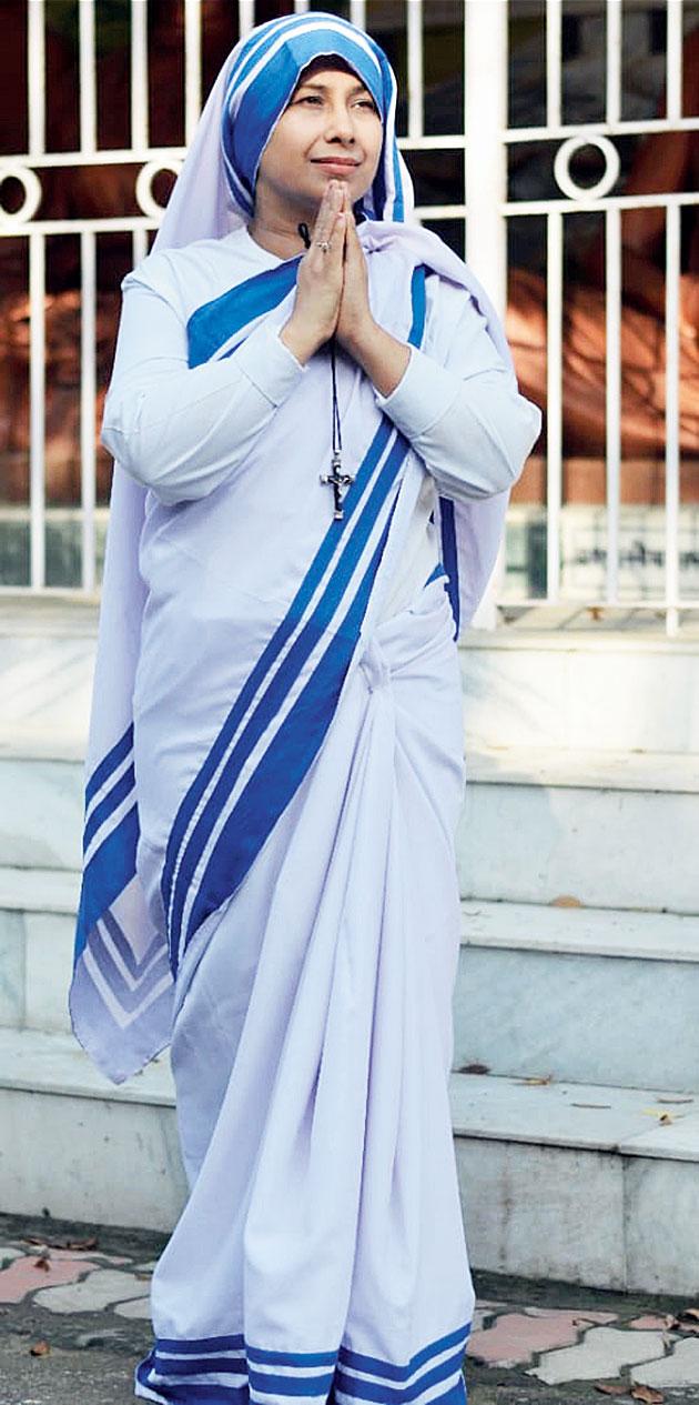 Namitha R. Dalmia as Mother Teresa