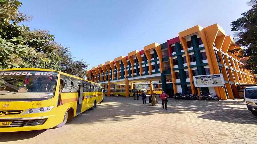 A private school in Ranchi