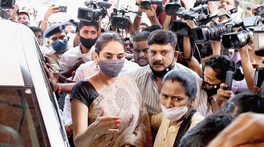 Drug racket: Kannada actor Ragini Dwivedi arrested, police say important material seized