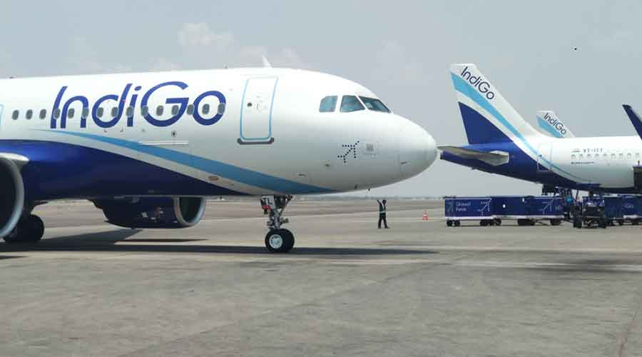 IndiGo reported a consolidated net loss of Rs 870.81 crore in the March quarter compared with a profit of Rs 596 crore a year ago. It reported its highest quarterly loss of Rs 2,844 crore in the first quarter of this financial year.