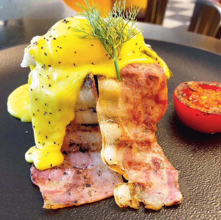 The Most Luscious Egg Benedict