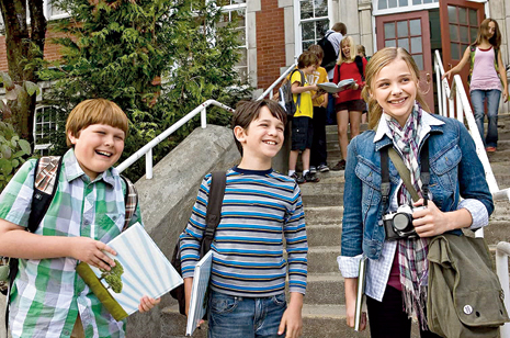 A still from Diary of a Wimpy Kid, 2010, the first of the Wimpy Kid movies