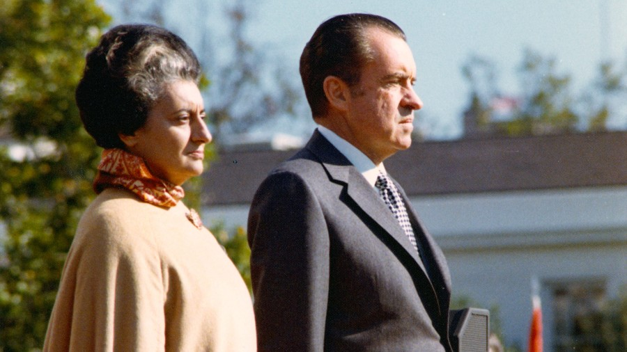 Nixon disliked Indira Gandhi for getting above herself, for not being 'womanly' enough
