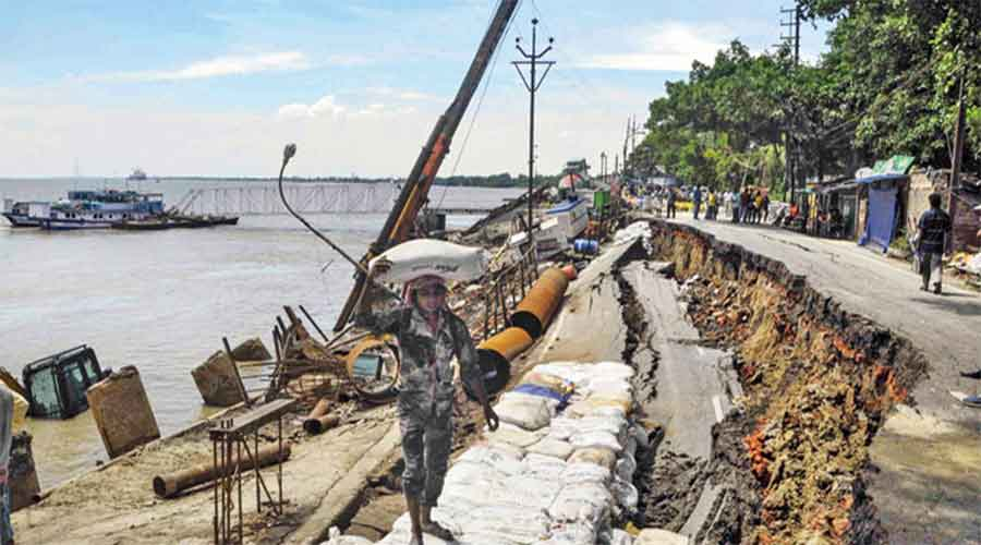 Senior Nabanna officials said the government was contemplating releasing funds for emergency works like repair of roads and bridges as the state's revenue generation had marginally increased over the past one month or so.