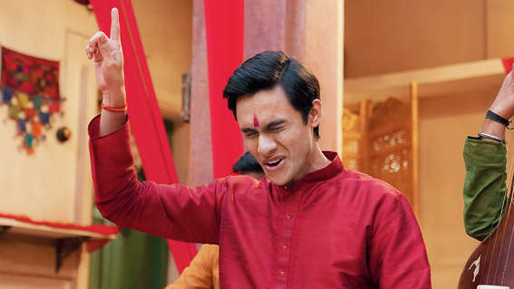 Ritwik Bhowmik as Radhe Rathore in 'Bandish Bandits', now streaming on Amazon Prime Video.