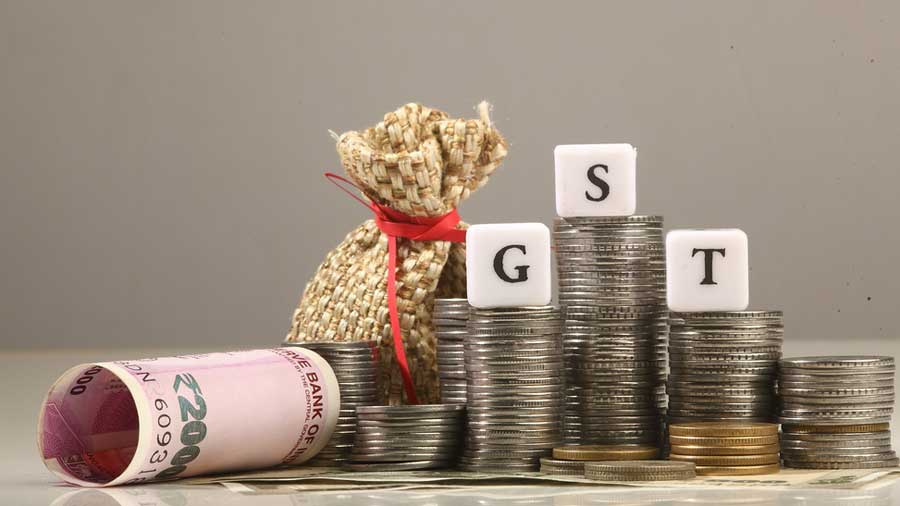 The projected total GST compensation shortfall in the current fiscal stands at Rs 2.35 lakh crore.