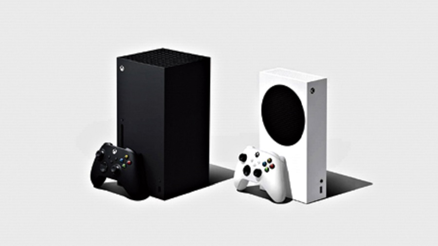 Microsoft Xbox Series X (left) and Xbox Series S are coming in November.