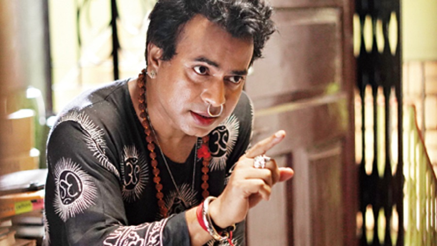 Rudranil Ghosh in Brombhodoityo, which is streaming on Hoichoi