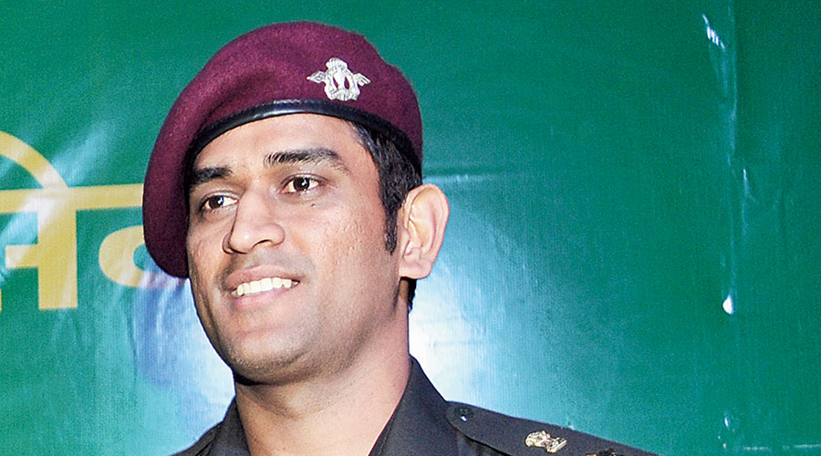 Mahendra Singh Dhoni, honorary Lieutenant Colonel in the Parachute regiment of the Territorial Army