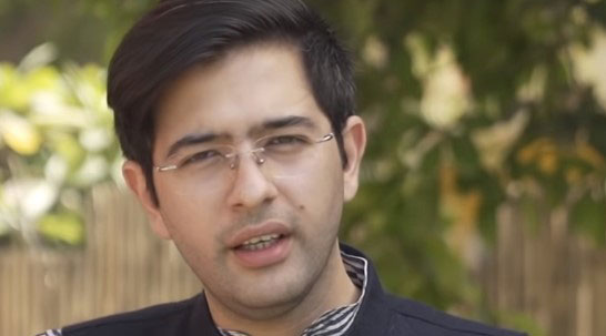 Aam Aadmi Party MLA Raghav Chadha