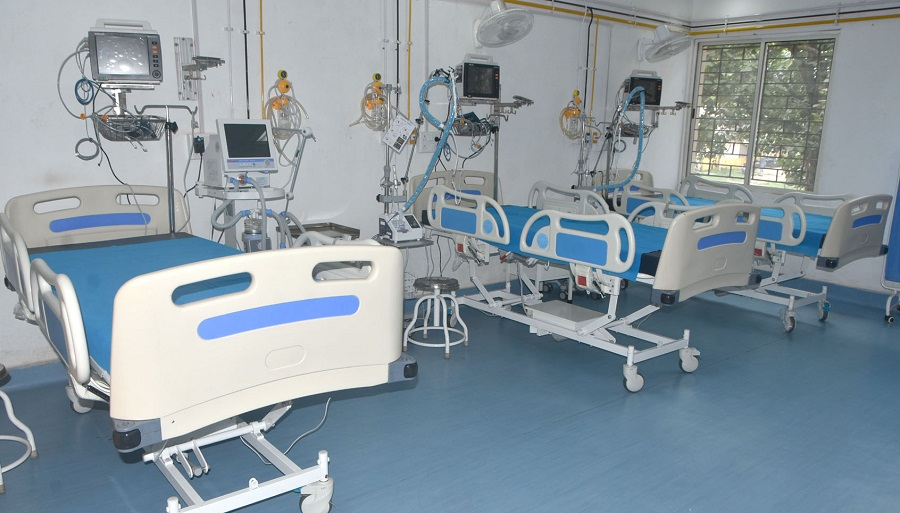 There are currently 9,000 normal beds and over 1,000 ICU beds available for coronavirus patients in the national capital.