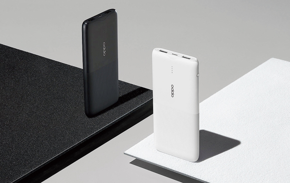 Oppo Power Bank 2 offers a 10,000mAh battery.