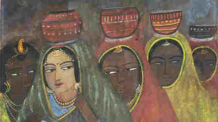 The Milkmaids (detail) by Sunayani Devi.