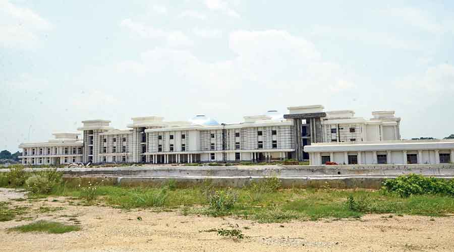 The new high court building in Ranchi.