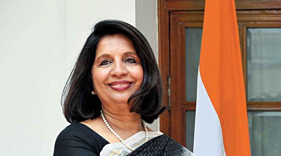 Former foreign secretary Nirupama Menon Rao