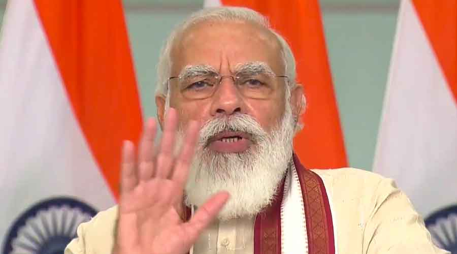 Speed of building PMAY houses improved during pandemic: Modi