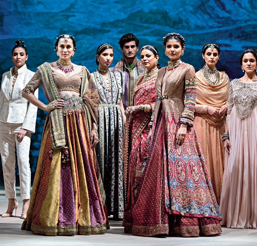 Glimpses from the Blenders Pride Fashion Tour virtual show