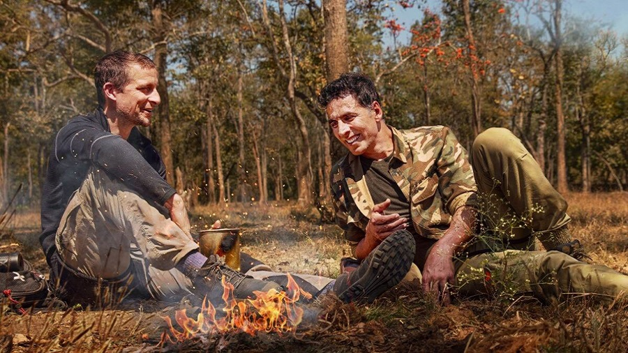 Akshay Kumar and Bear Grylls talk life and family in between sips of 'elephant poop tea' in Into The Wild