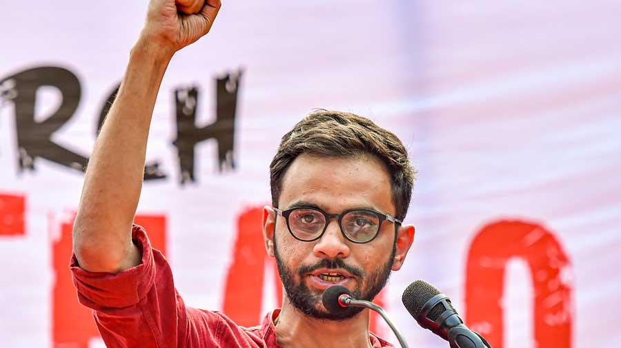 Wave of dismay at Umar Khalid's arrest