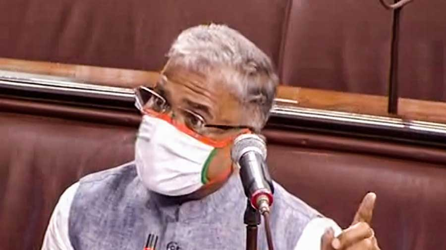 Outgoing Rajya Sabha deputy chairman Harivansh Narayan Singh re-elected -  Telegraph India
