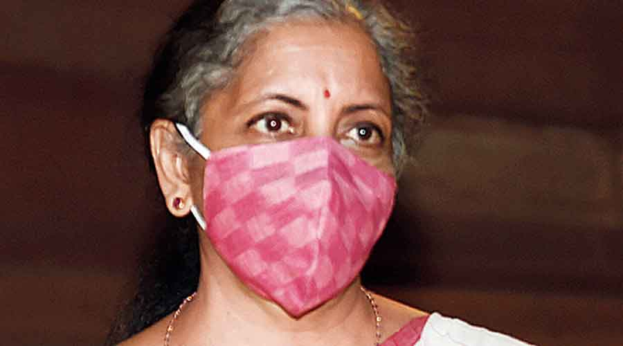 Nirmala Sitharaman in Parliament on Monday.