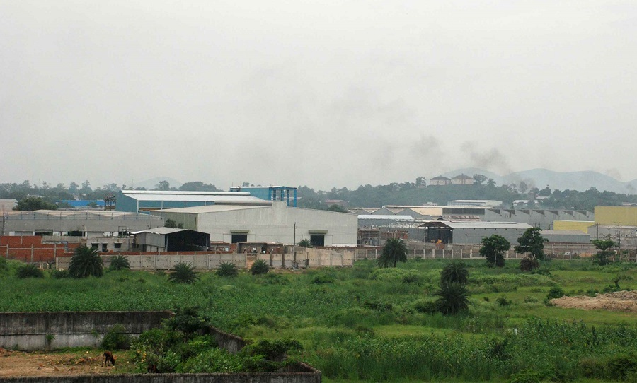 The Adityapur industrial area.