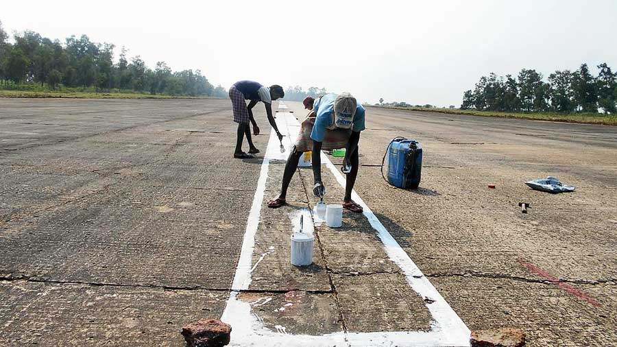 The aerodrome at Surichua.