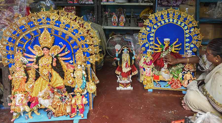 Puja: Covid duty for doctors