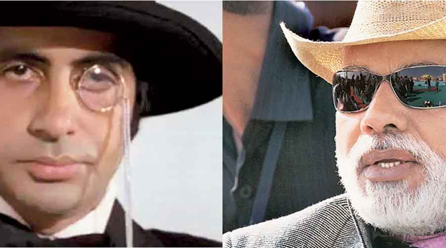 Anthony Gonsalves in reel life and Narendra Modi in real life