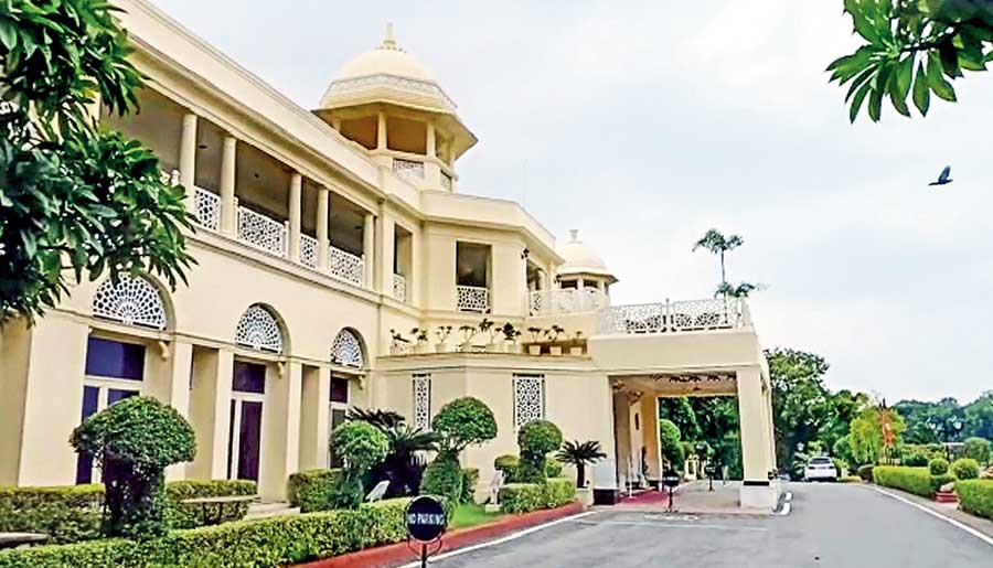 The Lalit Laxmi Vilas Palace Hotel in Udaipur.