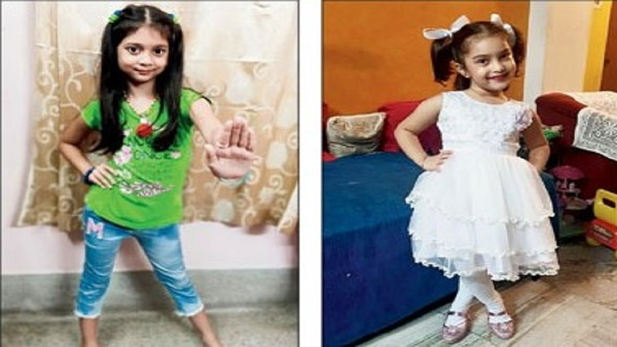 Sannidhyi Paul of Class II dances to Galti se mistake while Aaditri Sen of pre-primary 2 is all dressed up for her Lakdi ki kathi performance