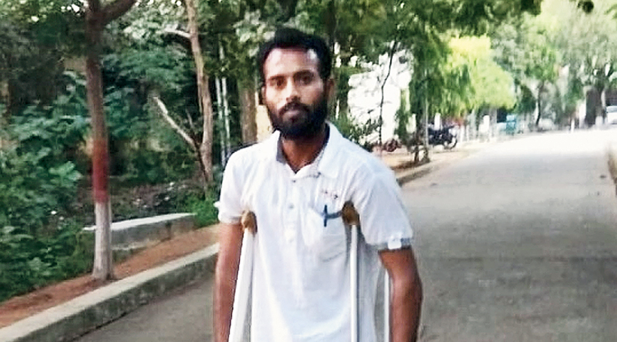 Koril Kumar in Palamau after his release