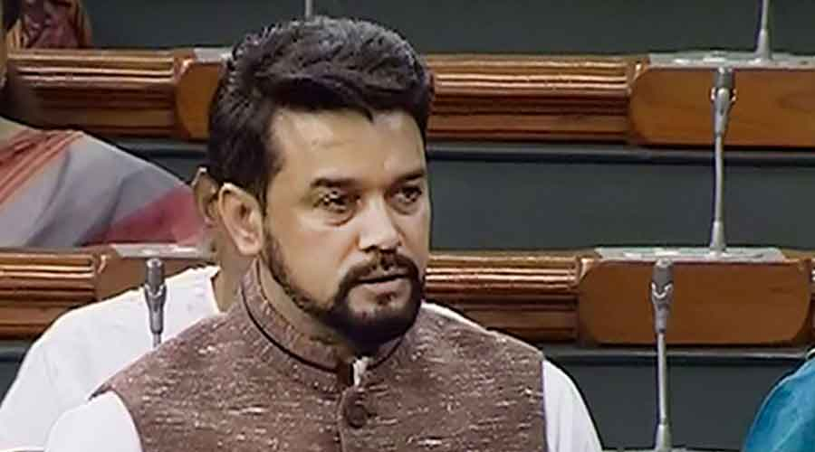 Junior finance minister Anurag Thakur