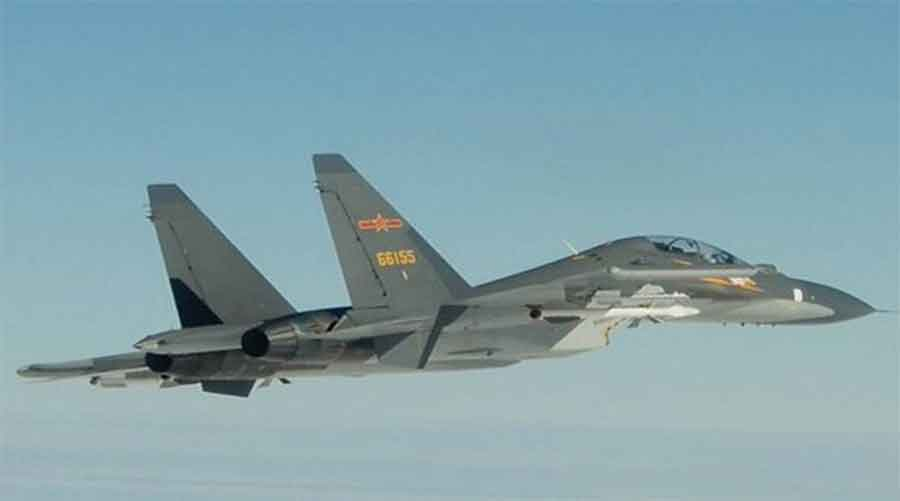 Taiwan said 18 Chinese aircraft were involved on Friday, far more than in previous such encounters.