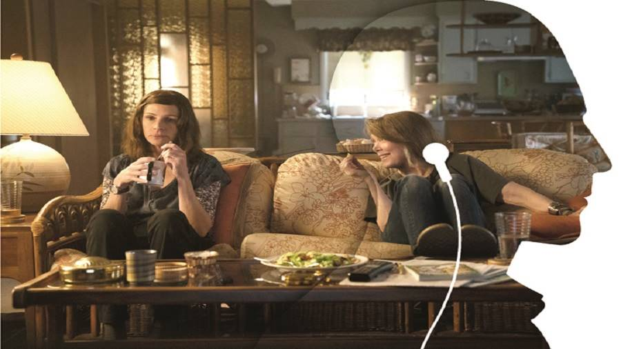 Julia Roberts and Sissy Spacek in Homecoming, which was orginally a podcast from Gimlet Media.