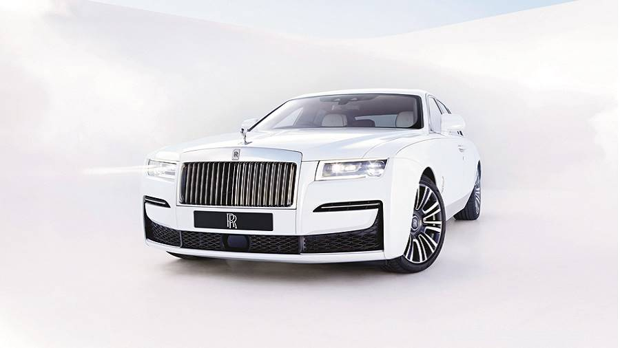 The New Rolls-Royce Ghost is a completely ground-up design
