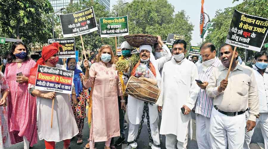 Congress plans national agitation against farm bill