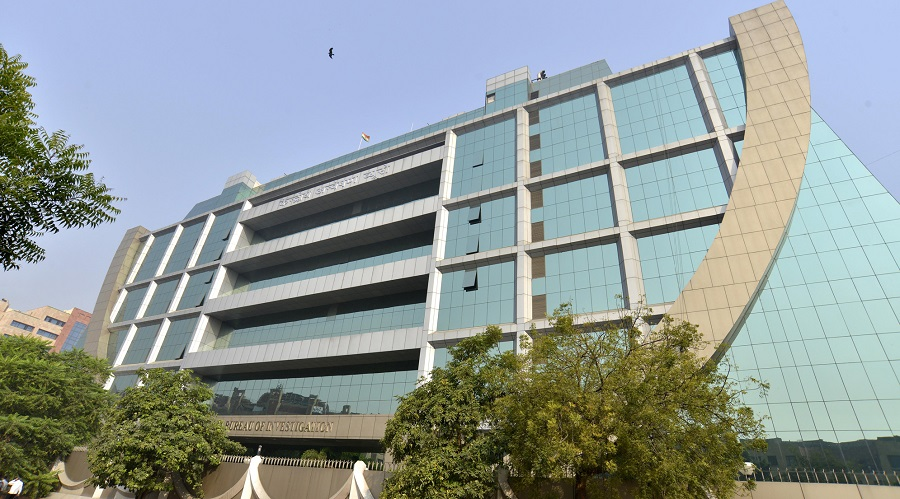 The CBI headquarters in New Delhi.