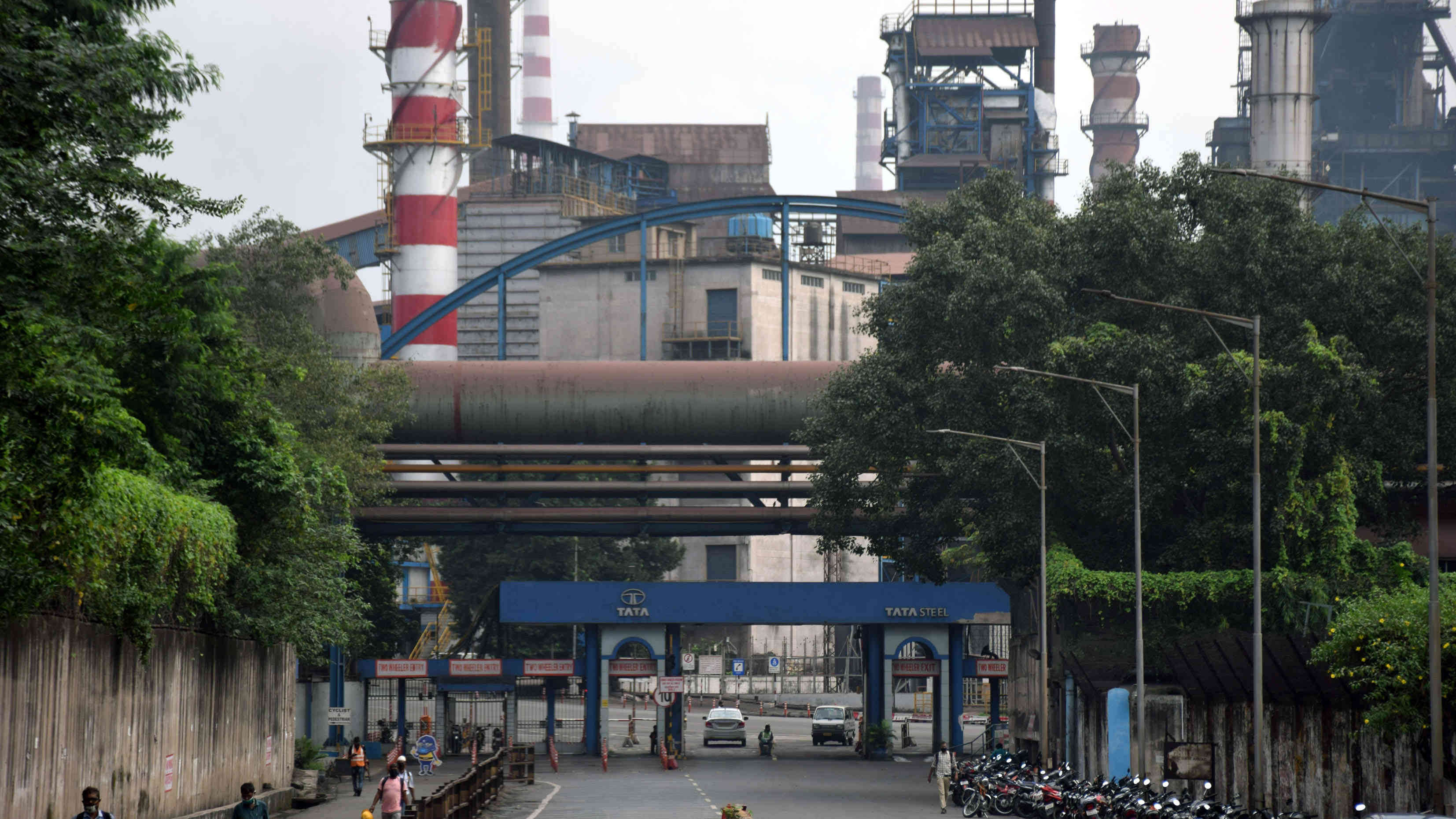 Tata Steel's Jamshedpur plant where the mishap took place on Tuesday.