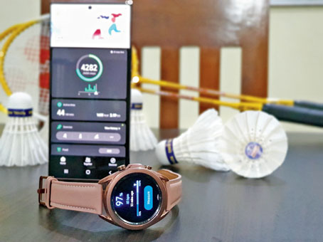 Watch3 has 1GB of RAM and 8GB of storage